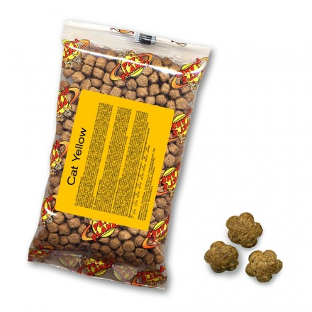 YELLOW for CAT Croccantini per tutti i gatti, 80 g