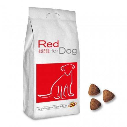 RED for DOG crocchette cuccioloni e cani adulti, 4 Kg