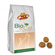 BIO for CAT Croccantini Biologici per Gatti, 400 g.
