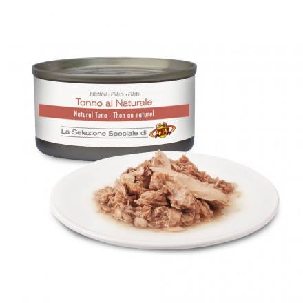 Filets de THON au naturel pour chats, 85 g